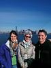 Ella, Merav, and Daniel Niv on Liberty Island