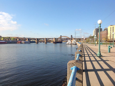 Robert St Bridge, Mississippi River, St Paul