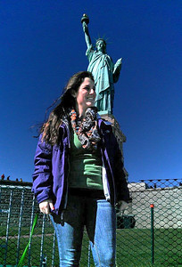 Ella and Statue of Liberty