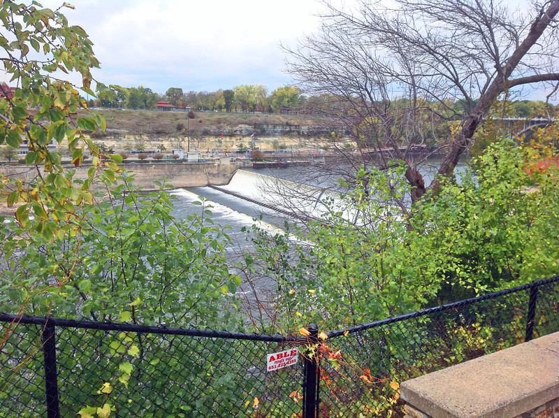 St Anthony Falls, dam no 1