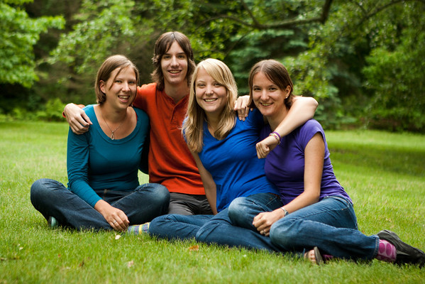 Abby, Gennie, Molly, Theo