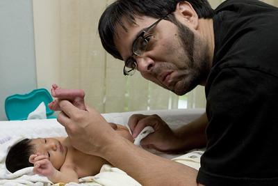 Abhi!  Phew...that is a stinky diaper!