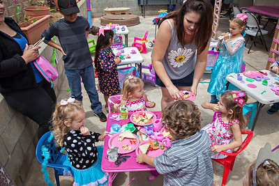 Abigail and Hannah combo birthday party