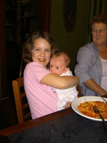 Abigail, Louis and Grandma