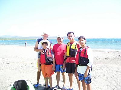 Kayaking en Salinas, R.D. 10feb08