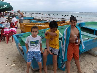 Playa Guayacanes 20 enero 2008