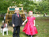 Gavy and Emma... The ringbearer and flower girl