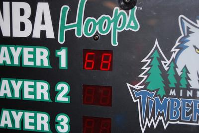 Adam's basketball score