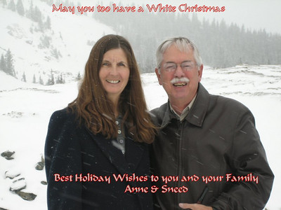 Adams Family Christmas in Katy TX 2007