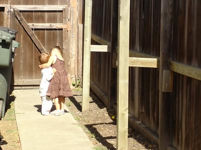 Paloma hug Lincoln