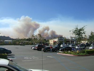 Santa Clarita Fires Oct. 07