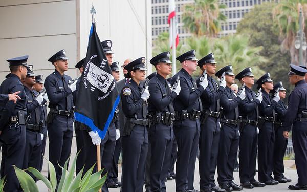 Adrian's LAPD Graduation