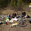 <b>12 June 2011</b> Red Earth Creek - stopping for lunch at the first campsite