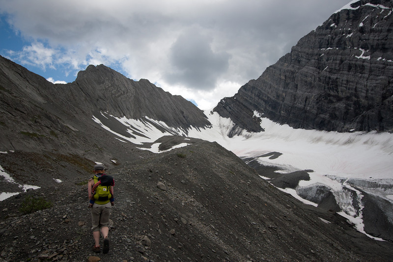 <b>29 July 2011</b> Old Goat Glacier continues to not loom majestically.
