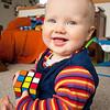 <b>9.5 months</b>  Rubik's cube!