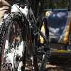 <b>5 June 2011</b> Skogan Pass - Bike post-snow-patch