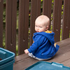 <b>9.5 months</b> Hanging out on the balcony