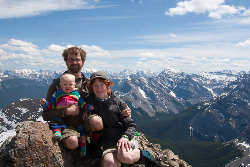 <b>22 June 2011</b> Mountain family
