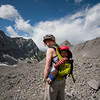 <b>29 July 2011</b> Me and the Offspring, all set to walk away from Old Goat Glacier, without a concern in our hearts.