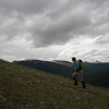 <b>18 June 2011</b> Wind Ridge with the Skogan Pass area in the background