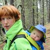 <b>24 May 2011</b> Barrier Mountain - Finn and Mama in the Ergo