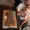 The First birthday cake (Australian Woman's Weekly Birthday Cake book style)
