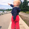 <b>31 August 2012</b> Out for a walk by the river
