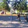 <b>29 August 2012</b> Swinging with Papa and Zaida