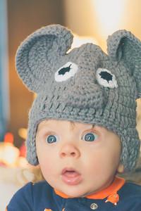 Jackson with an Elephant Hat