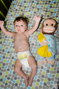 Jackson and Curious George