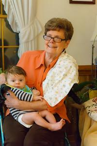 Grandma Gladfelter with Jackson