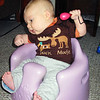 <b>10.5 weeks</b> Maracas and the Bumbo - good times (and the fancy Duck Duck Moose top from Val)