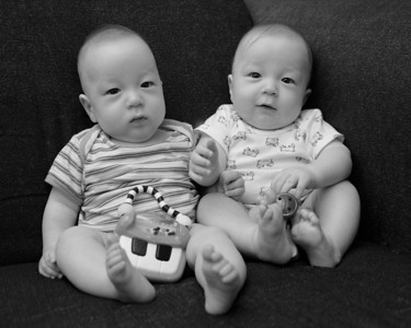 Tyler and Aiden.  They have grown and changed so much in the past 7 weeks.