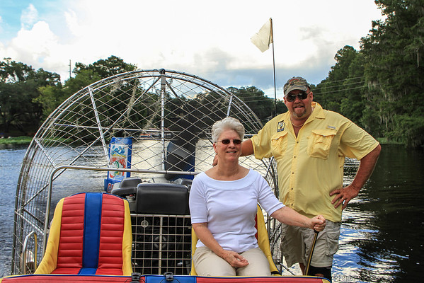 Airboat Tour, Dunnellon, Fl. July 2012