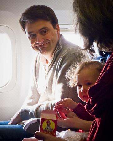 Airplane ride to Kansas - 2011