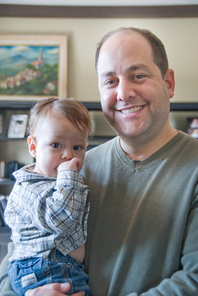 Alan Behrstock's 1st Birthday
