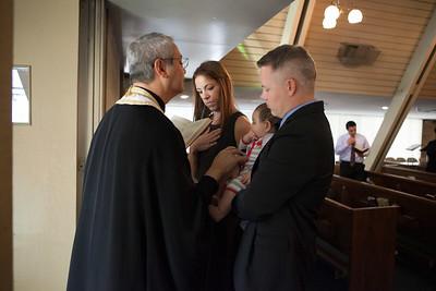 Evan Baptism