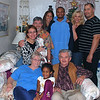 Mom, Jasmine and Dad in front.<br /> Kim, Alan, Heather, Derek, Judy and Mark in back.