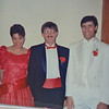 Heather, Alan and Mark at Mark's wedding, 1986 in Mountain Lake MN