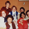 A family photo, Christmas 1977, Pat, Mark, Heather, Dad, Mom, Kay Peterson and Alan