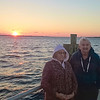 Mom and Dad at sunset at the Panama City Pier, March 2016