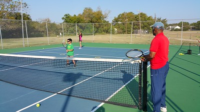 2015-10-10 Tennis lessons with Coach Alex Porter