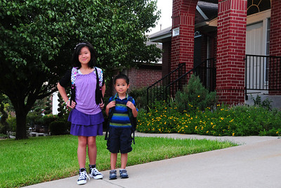 2011-08-23 First day of school