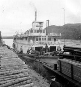The Yukon River was navigable for several months out of the year, allowing food and supplies to be brought in from the Berring Straight.  Richard Baylis's life depended on these goods, but they were so expensive that all profits were used up on them.