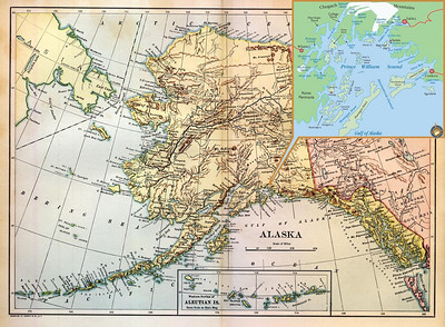 I didn't know much about Alaska, or the Prince William Sound, but I could remember the 1968 summer trip my parents took us on when I was eight years old.  My father drove us in a camper up to Oregon, then on to Seattle where we boarded an Alaskan car ferry and followed the 1898 route of our pioneer ancestor, George Baylis, into the Yukon.