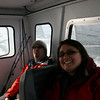 Tom and Timber on Dave's boat doing some halibut fishing out of homer.
