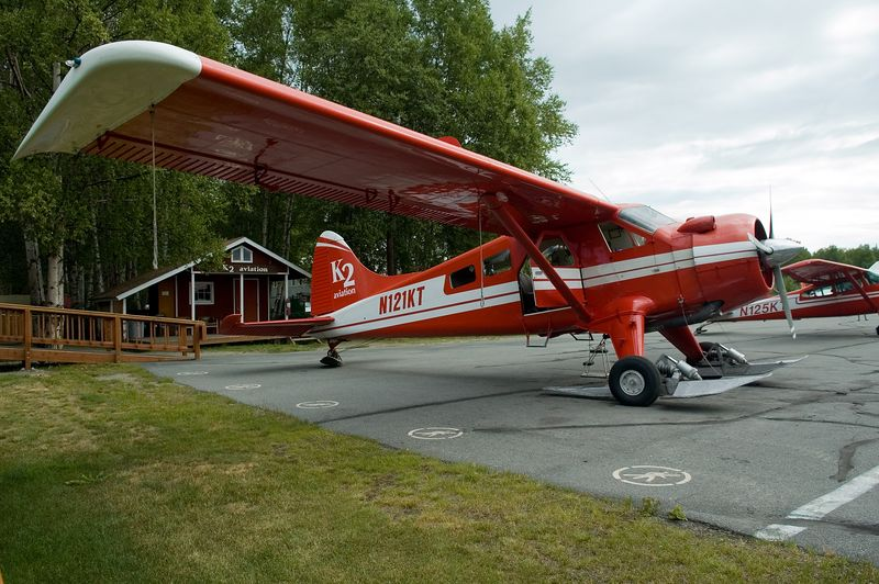 This is the plane that we rode in.  We had 7 passengers and the pilot.