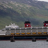 Disney cruise joins us in Skagway