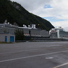 Noordam and Ruby Princess docked at Skagway