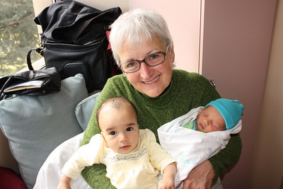 Bibi and the grandbabies!